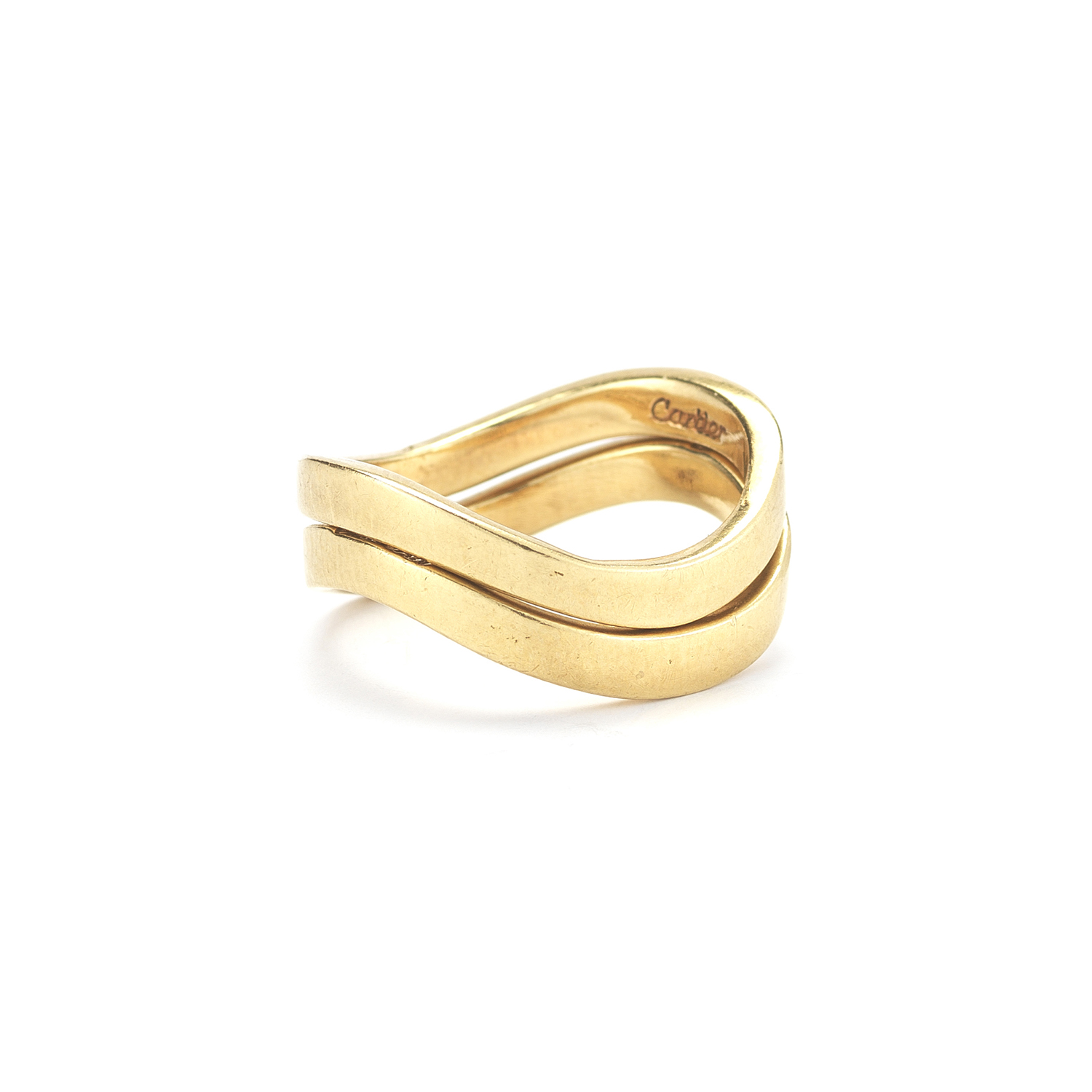 Cartier Dinh Van 18K Yellow Gold Stackable Rings, Serial FL39536
