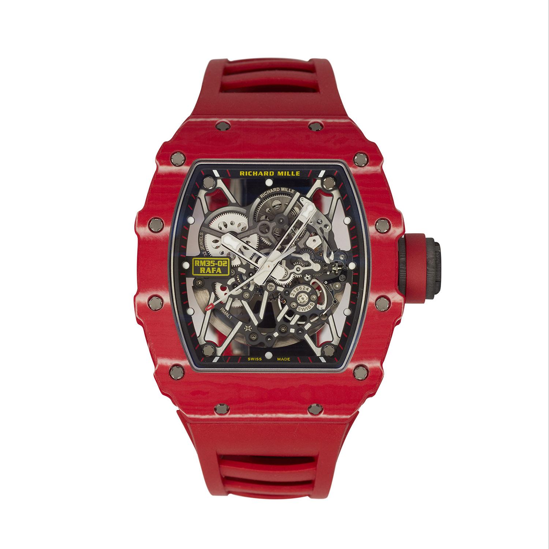 Richard Mille Red QTPT Nadal Wristwatch, Serial FL41782