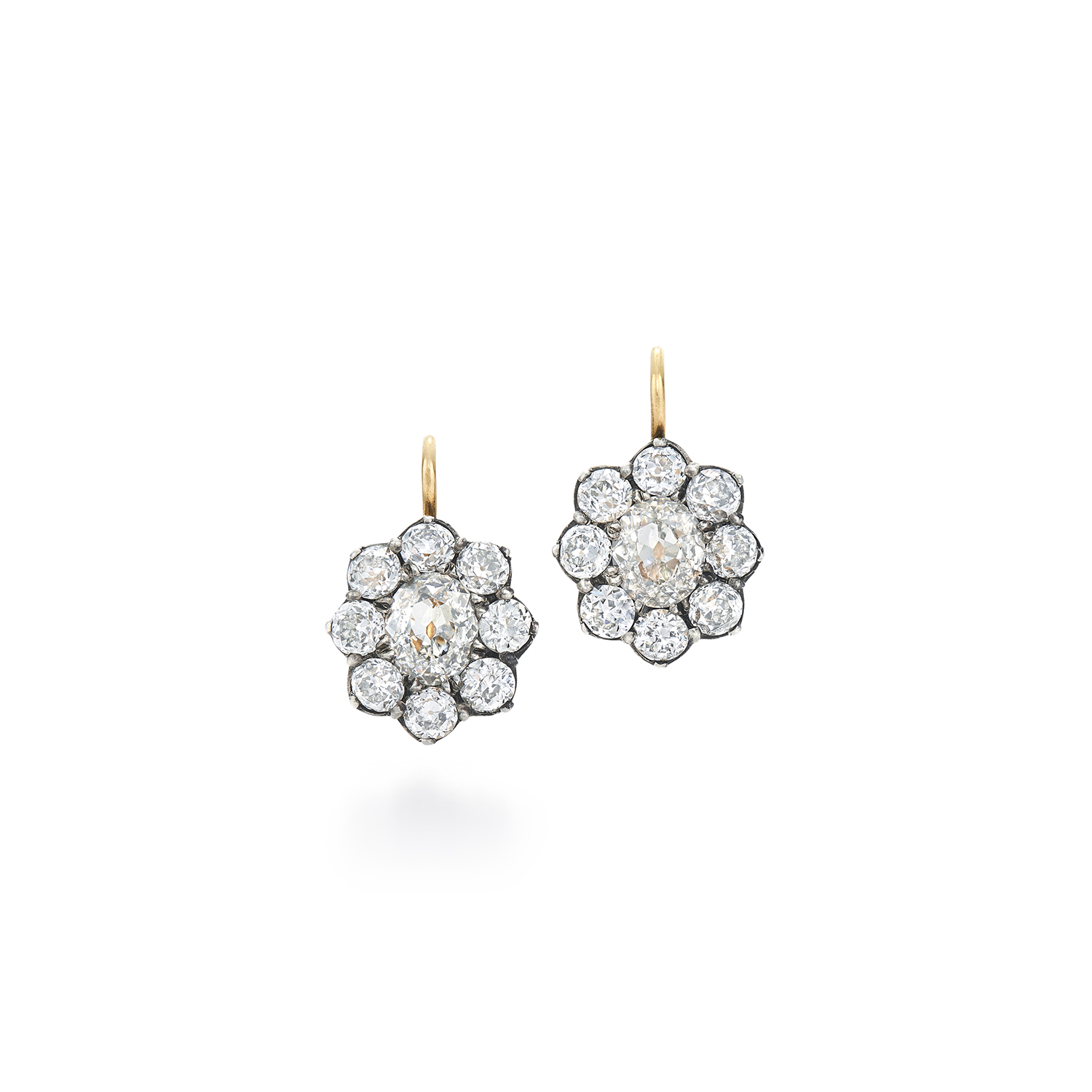s raya ot pearl daisy products all earrings cluster white shop maya