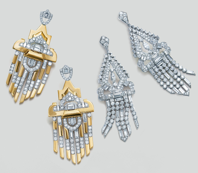 Diamond Signed Fred Leighton Earrings | Fred Leighton