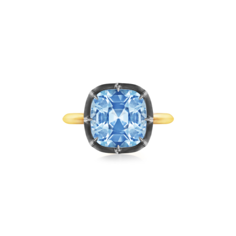 Old European Cut Diamond Scrolled Filigree Ring Signed Fred Leighton Style F1049-DIA