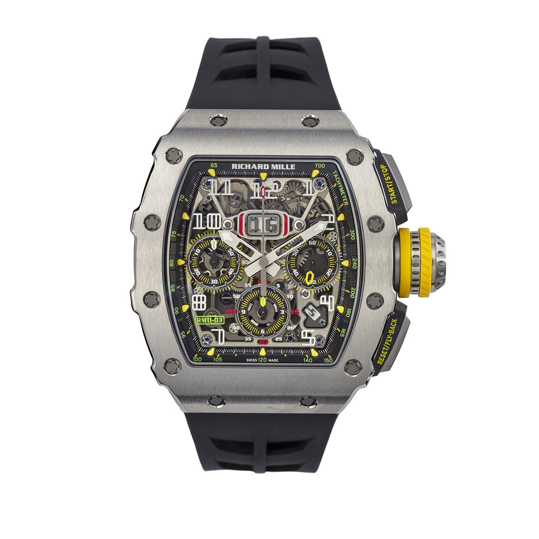 Richard Mille Titanium RM11-03 Wristwatch, Serial FL41783